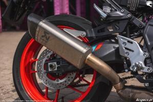 22 2021 Yamaha MT 09 wydech