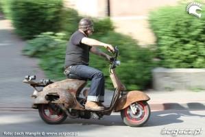 05 Yamaha JOG 50 RR rat rust scoot custom