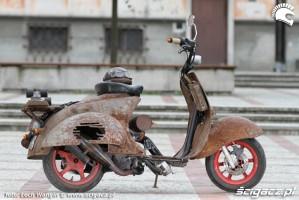 14 JOG 50 RR rat rust scoot custom