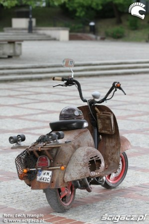 32 Yamaha Ospa JOG 50 RR rat rust scoot custom
