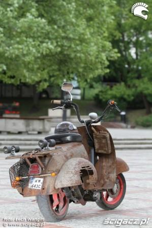 33 Yamaha Ospa JOG 50 RR rat rust scoot custom