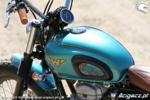 29 Kawasaki W 650 Flying Duxe custom bobber zbiornik