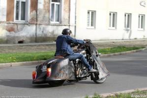 02 Harley Davidson Sportster 1200 Led Sled custom jazda