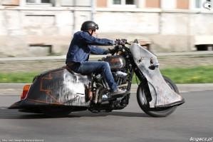 04 Harley Davidson Sportster 1200 Led Sled custom w jezdzie