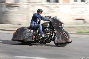 06 Harley Davidson Sportster 1200 Led Sled custom szosa