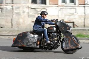 13 Harley Davidson Sportster 1200 Led Sled custom miasto