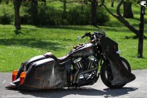 24 Harley Davidson Sportster 1200 Led Sled custom
