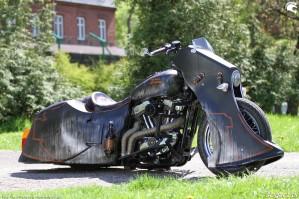 25 Harley Davidson Sportster 1200 Led Sled custom