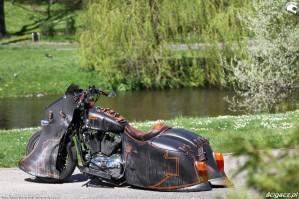 32 Harley Davidson Sportster 1200 Led Sled custom