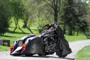 35 Harley Davidson Sportster 1200 Led Sled custom