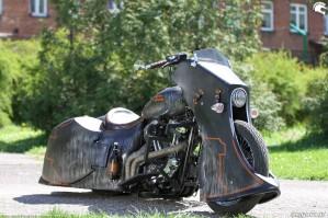 36 Harley Davidson Sportster 1200 Led Sled custom