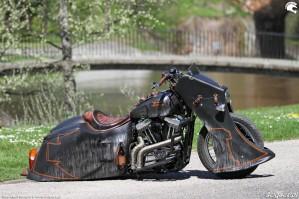 37 Harley Davidson Sportster 1200 Led Sled custom