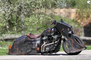 38 Harley Davidson Sportster 1200 Led Sled custom
