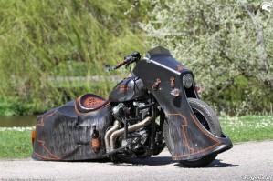39 Harley Davidson Sportster 1200 Led Sled custom