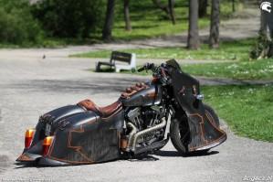 40 Harley Davidson Sportster 1200 Led Sled custom