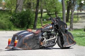 41 Harley Davidson Sportster 1200 Led Sled custom