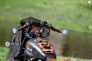 45 Harley Davidson Sportster 1200 Led Sled custom