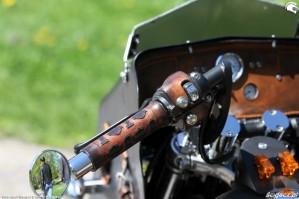 48 Harley Davidson Sportster 1200 Led Sled custom z bliska