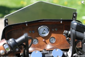 50 Harley Davidson Sportster 1200 Led Sled custom kokpit
