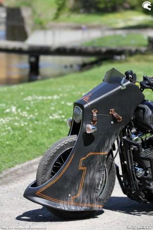 53 Harley Davidson Sportster 1200 Led Sled custom