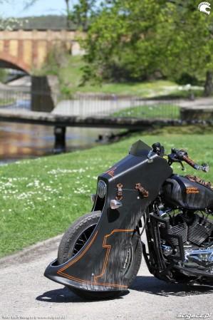 54 Harley Davidson Sportster 1200 Led Sled custom