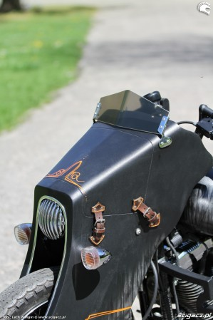 55 Harley Davidson Sportster 1200 Led Sled custom