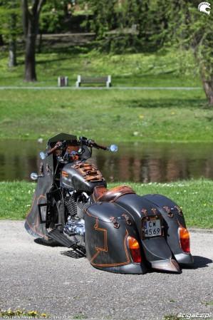 56 Harley Davidson Sportster 1200 Led Sled custom