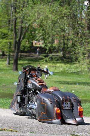 57 Harley Davidson Sportster 1200 Led Sled custom