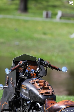 58 Harley Davidson Sportster 1200 Led Sled custom