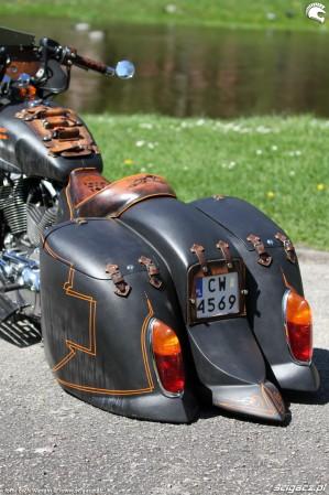 59 Harley Davidson Sportster 1200 Led Sled custom