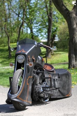 61 Harley Davidson Sportster 1200 Led Sled custom