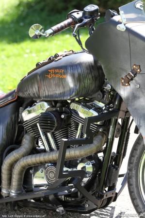 62 Harley Davidson Sportster 1200 Led Sled custom