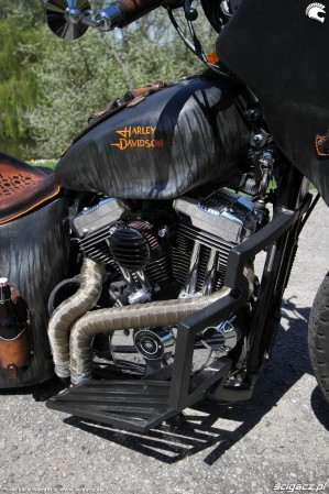 64 Harley Davidson Sportster 1200 Led Sled custom