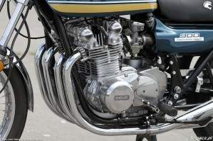 08 Kawasaki Z1 kolektory