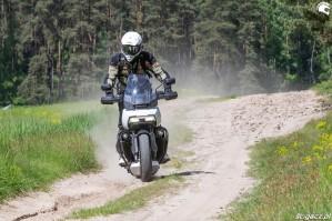 26 Harley Davidson 1250 Pan America w akcji