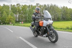 37 Harley Davidson 1250 Pan America 2021 test motocykla