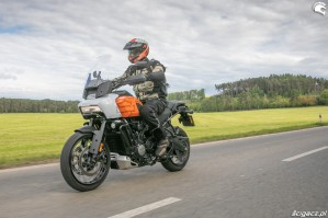 41 Harley Davidson 1250 Pan America 2021 test motocykla