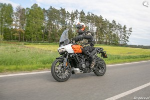 45 Harley Davidson 1250 Pan America 2021 test motocykla