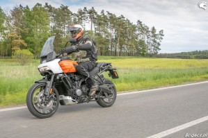 46 Harley Davidson 1250 Pan America 2021 test motocykla