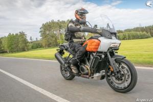52 Harley Davidson 1250 Pan America 2021 test motocykla