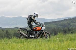 60 Harley Davidson 1250 Pan America 2021 test motocykla