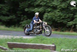 07 Triumph Bonneville dragster
