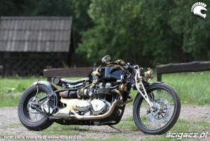 15 Triumph Bonneville America dragster w plenerze