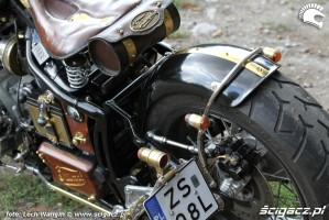 30 Triumph Bonneville America custom detale
