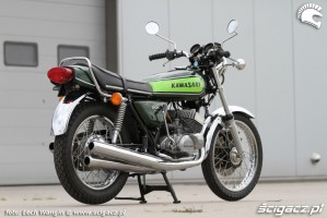 06 Kawasaki H1 Mach 3 po renowacji