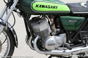 08 Kawasaki H1 Mach 3 motor