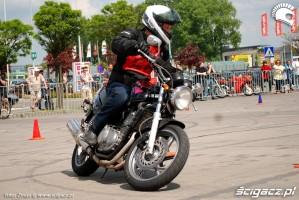 Honda CB 500 jazda