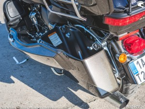 HD RoadGlide 46 lewy kufer