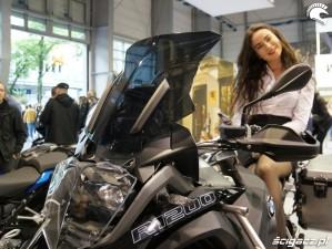 BMW R1200 Poznan Motor Show