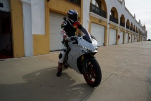 Ducati Supersport S gotowy do testu